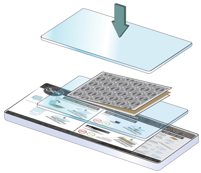 instrukcja użycia folderu do embossingu w maszynce