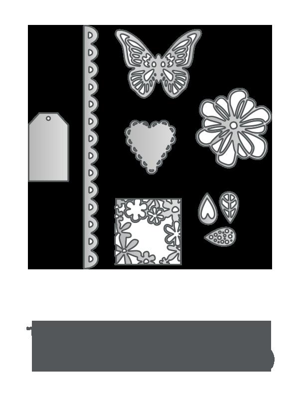 wykrojniki Sizzix Thinlits logo
